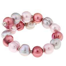 Imperial Pearls Multicolor Pink Cultured Pearl Bracelet
