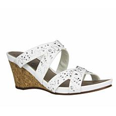 IMPO Veradis Stretch Wedge Sandal with Memory Foam