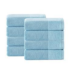 Incanto Turkish Cotton 8-piece Hand Towel Set