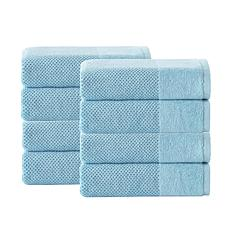 Incanto Turkish Cotton 8-piece Hand Towel Set