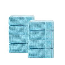 Incanto Turkish Cotton 8-piece Wash Cloth Set