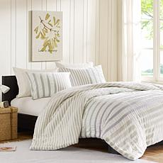 INK+IVY Sutton Cotton Duvet Cover Set - Multi - Twin