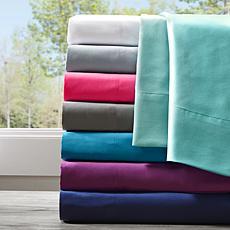 Intelligent Design All Season Wrinkle-Free Sheets - Cal King/White
