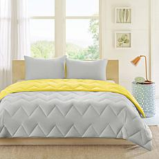Intelligent Design  Trixie Reversible Comforter Mini Set King/Cal King
