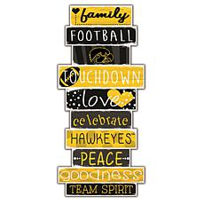 "Iowa Celebrations Stack 24"" Sign"