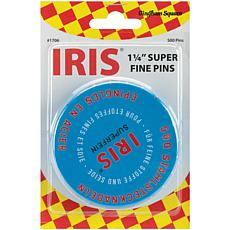 Iris Swiss Super Fine Pins - 500-pack