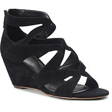 Isola Filisha Leather or Suede Wedge Sandal