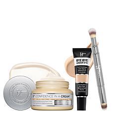 IT Cosmetics Cream Medium Concealer and Brush Set