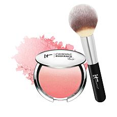 IT Cosmetics Radiance Ombre Blush with Luxe Brush