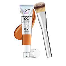 IT Cosmetics Rich Full Coverage SPF 50 CC Cream with Plush Brush