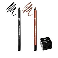 IT Cosmetics Superhero Smudge-proof No-tug Gel Eyeliner Duo
