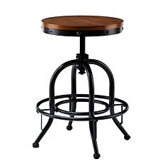 Italia Industrial Adjustable Stool