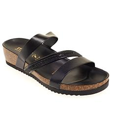 Italian Shoemakers Blare Beaded Z-Strap Sandal
