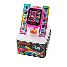 iTime Trolls Pink Kids' Interactive Smart Watch
