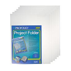 "Itoya Profolio Project Folders 11"" x 14"" 6-Pack"