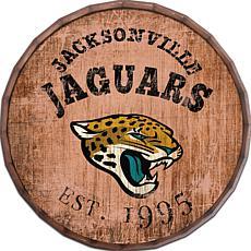 """Jacksonville Jaguars Established Date 24"""" Barrel Top"""