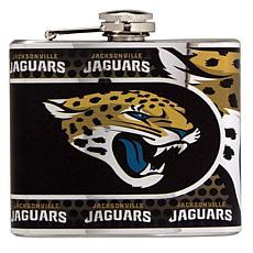 Jacksonville Jaguars Stainless Steel Hip Flask
