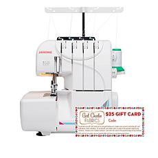 Janome 4-3 Thread Mod Serger with Fabric Gift Card