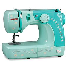 Janome Hello Kitty Compact Sewing Machine - Blue