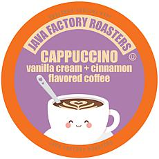 Java Factory Cappuccino Flavored Coffee K-Cups 40-Count