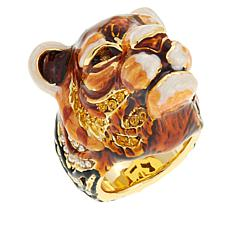 "JAY Jay Strongwater ""Call of the Wild"" Tiger Ring"