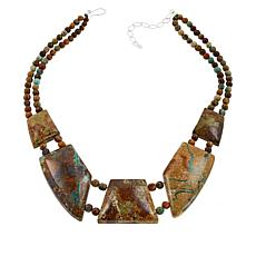 Jay King 2-Strand New Red Skin Turquoise Necklace