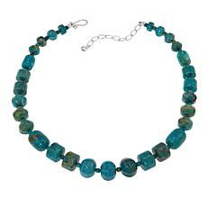 "Jay King Azure Peaks Turquoise Chunky 18"" Necklace"
