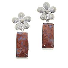 Jay King Brecciated Chalcedony Drop Earrings