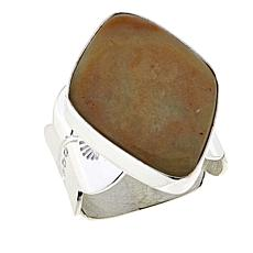 Jay King Caramel Gobi Opal Sterling Silver Ring