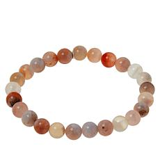 Jay King Cherry Chalcedony Bead Stretch Bracelet