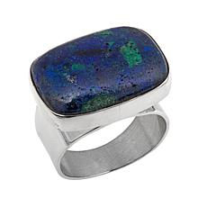 Jay King Compressed Azurite-Malachite Ring