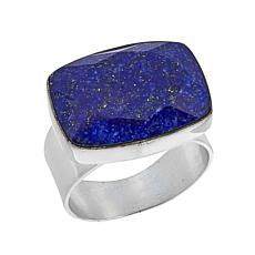 Jay King Cushion-Cut Lapis Sterling Silver Ring