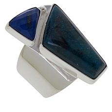 Jay King Gallery Collection Indigo Blue Apatite and Lapis Ring