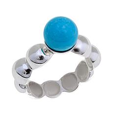 Jay King Iron Mountain Turquoise Ring