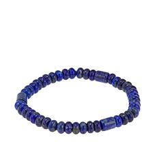Jay King Lapis Bead Stretch Bracelet