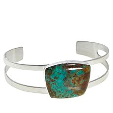 Jay King Lonesome Pine Mountain Turquoise Cuff