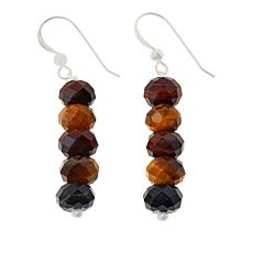Jay King Multi-Color Tiger's Eye Quartz Bead Drop Earrings