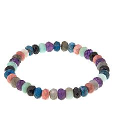 Jay King Multicolor Multigemstone Stretch Bracelet