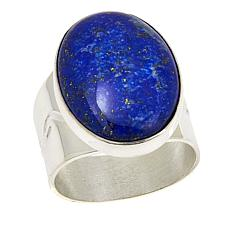 Jay King Oval Lapis Sterling Silver Ring