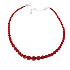 "Jay King Red Sea Bamboo Coral Bead 18"" Necklace"