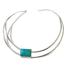 Jay King Santa Rita Turquoise Collar Necklace