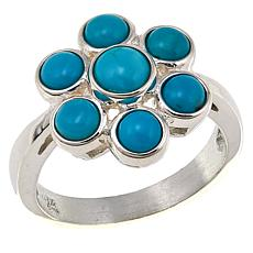 Jay King Seven Peaks Multi-Turquoise Sterling Silver Ring