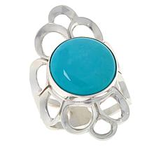 Jay King Sonoran Blue Turquoise Flower Ring