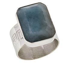 Jay King Sterling Silver Aquamarine Ring