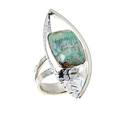 Jay King Sterling Silver Boulder Variscite Ring