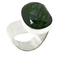 Jay King Sterling Silver Chrome Diopside Freeform Ring