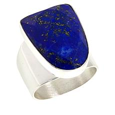 Jay King Sterling Silver Faceted Lapis Ring