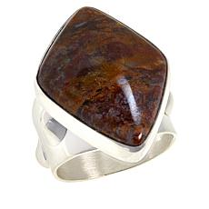 Jay King Sterling Silver Freeform Jasper Ring