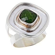 Jay King Sterling Silver Green Chrome Diopside Ring