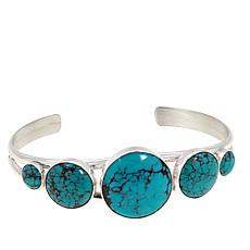 Jay King Sterling Silver Hubei Turquoise Cuff